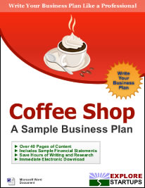 Business Startup EBooks Guide To Starting Your Own Business - Coffee shop business plan template free